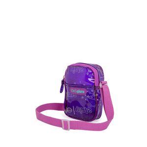 Bolsa Crossbody para Niñas Mica con Glitter color Morado