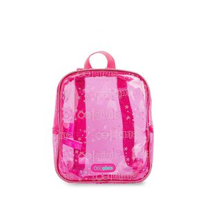 Mochila para Niñas Mica con Glitter color Rosa