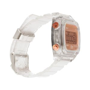 Reloj Digital Strap Transparente color Copper